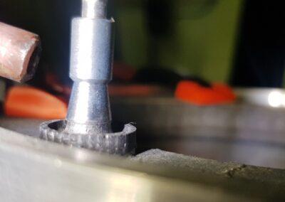 Assemblage par soudure laser de pièces en 100 % molybdène