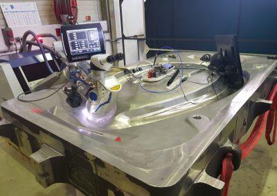 Outillage Super Plastic Forming (SPF) en Inconel