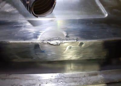 3 - Rechargement par soudure Laser de l'impact