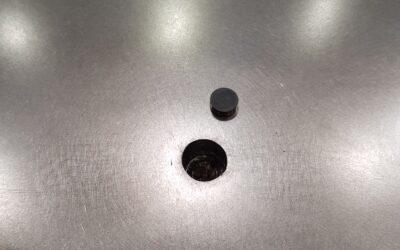 Réparation d'un trou de locating sur outillage de drapage